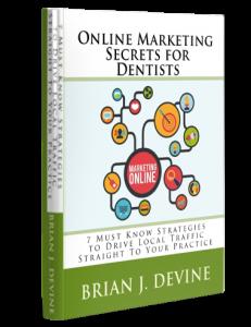 Online Marketing Secrets For Dentists Book Cover Image