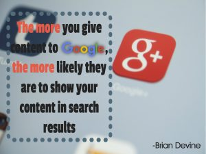 The more you give content to Google, the more likely they are to show your content in search results