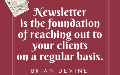 Do You Have A Monthly Newsletter? Is It Designed To Drive Revenue For Your Practice?