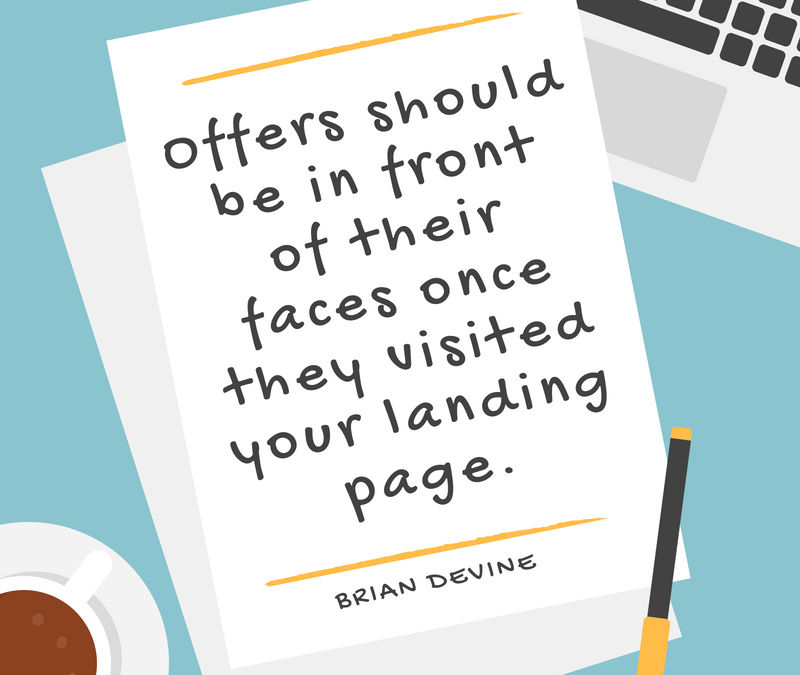 Practice Marketing With TopLine: Landing Pages, Offers and Targets Oh My!