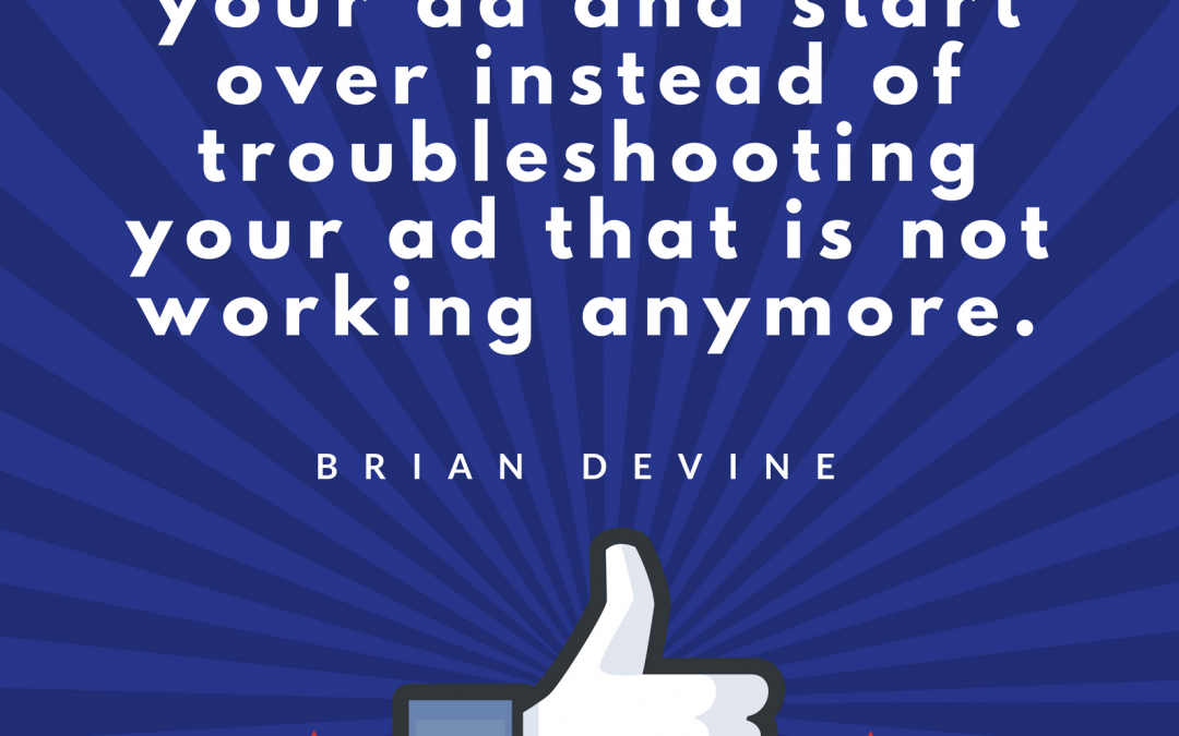 Practice Marketing: Facebook Ads Troubleshooting