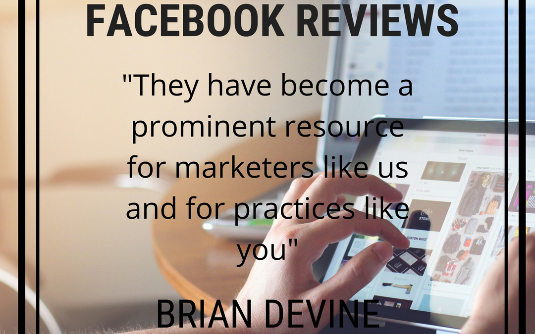 Facebook Reviews For Your Practice Are Changing! Are You Ready?