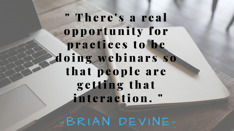 Have You Considered Webinars For Your Practice?