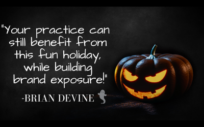 Are You Using Halloween To Build Your Practice?